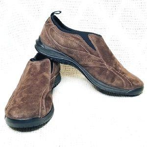 Johnston & Murphy Vibram Slip-on Leather Shoes